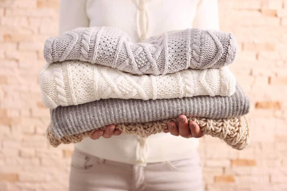 حافظي على ملابسك الشتوية لوقت طويل🧺🧶