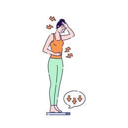 فقدان الوزن غير المقصود؛ الأسباب وعلامات الخطر!