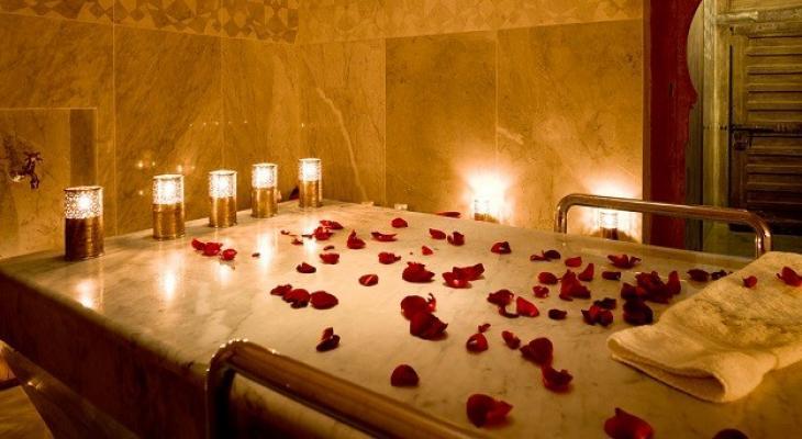 طريقة عمل حمام العروس في المنزل