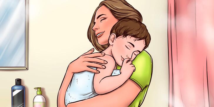 لماذا يجب على الأم أن تحضُن أطفالها دائمًا وبانتظام؟!