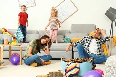 كيف تحافظي على منزل نظيف مع أطفال يحبون الفوضى!