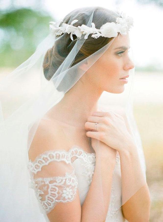 أحدث صيحات طرح الزفاف2021