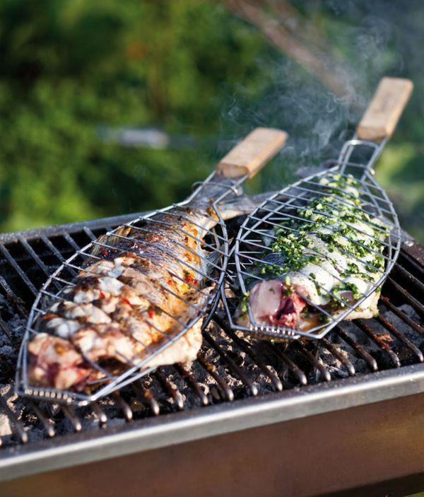 السمك المشوي بنكهة جديدة