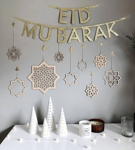 أفكار ولمسات بسيطة في منزلك تحيي فرحة عيد الفطر