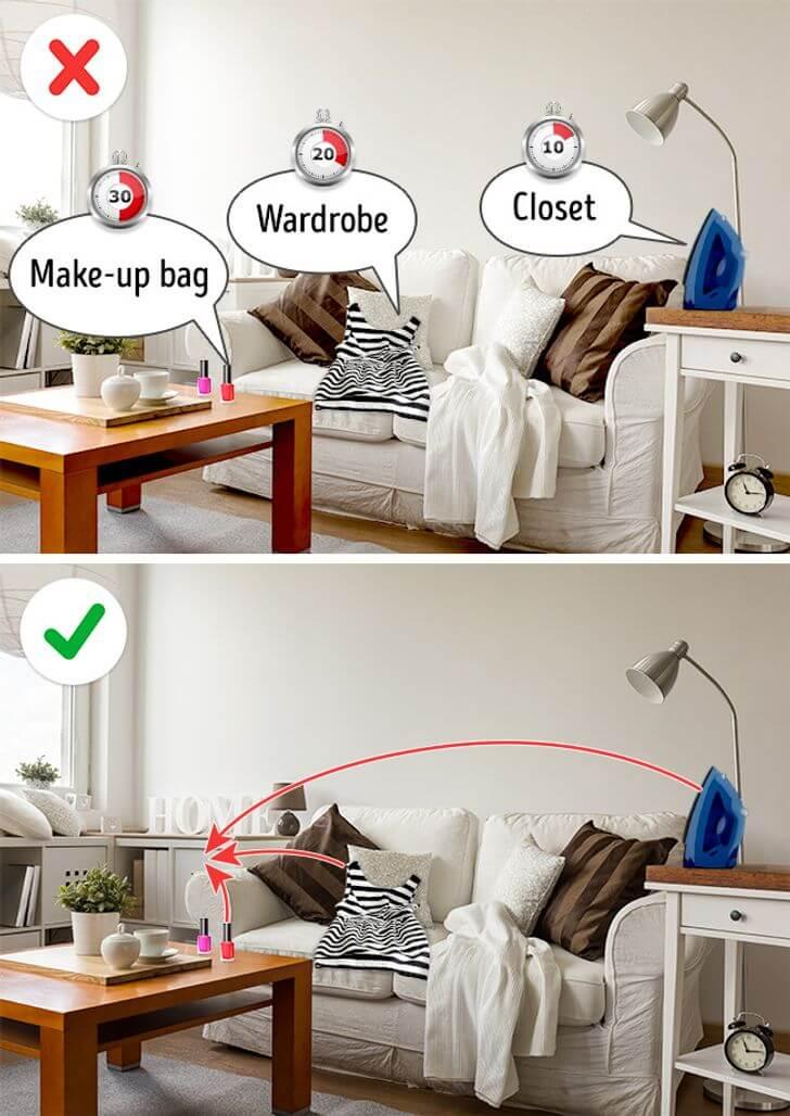 هناك فرق بين التنظيف والترتيب! إليكِ أسرار المنزل النظيف!