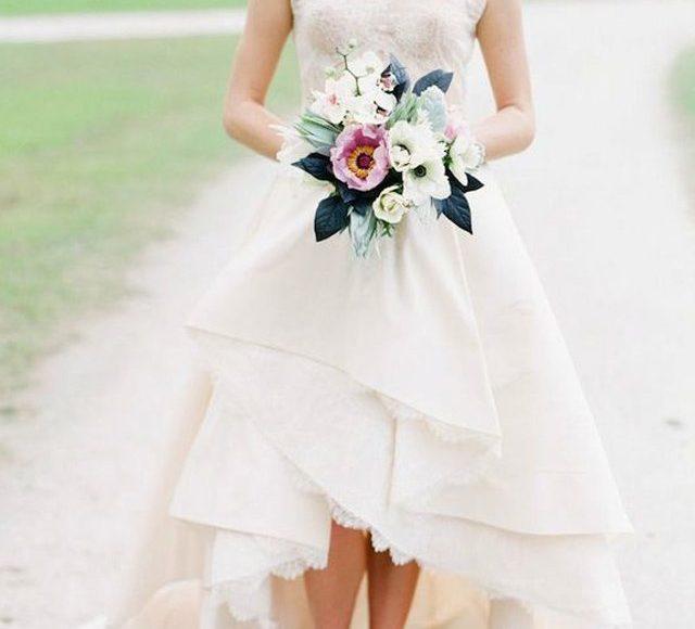 تصاميم لفساتين زفاف مناسبة لقصيرة القامة💍👫