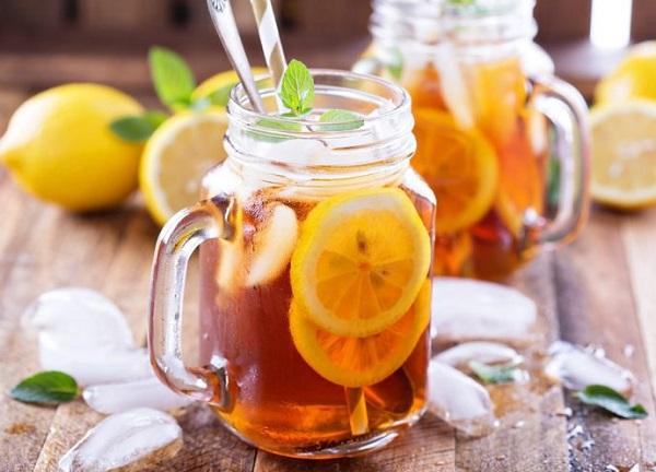 نقدم لك مشروبات شهية الشاي المثلج  بعدة إضافات لذيذة