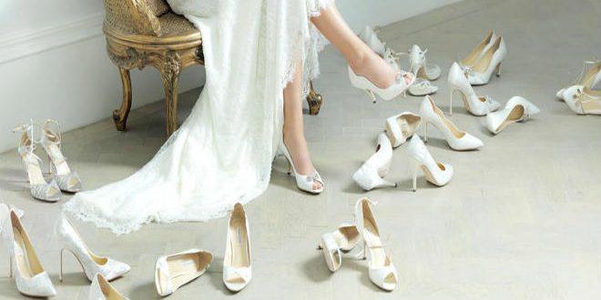 كيف تختاري حذاء الزفاف المريح