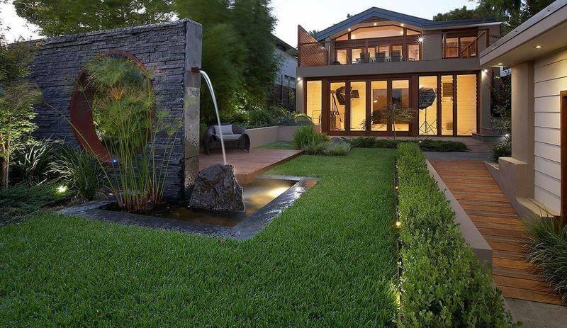 تعرفي على انواع الحدائق المنزلية.
