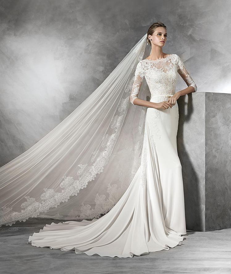 طرح الزفاف الطويلة كيف تختاريها مع فستانك