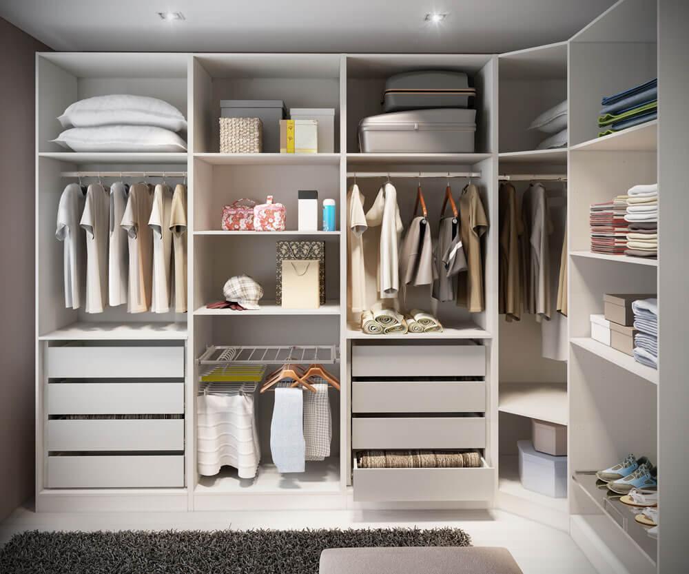 افكار ونصائح لإختيار خزانة ملابس المثالية لإحتياجاتك