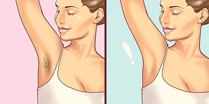 5 طرق للحصول على إبطين ناعمين كالحرير بدون حلاقة !