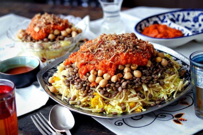 من المطبخ المصري نقدم لك اشهر المأكولات المصرية الشهية