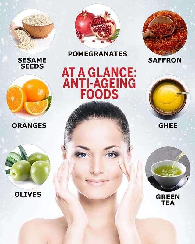 غذائك يجنبك علامات الشيخوخة