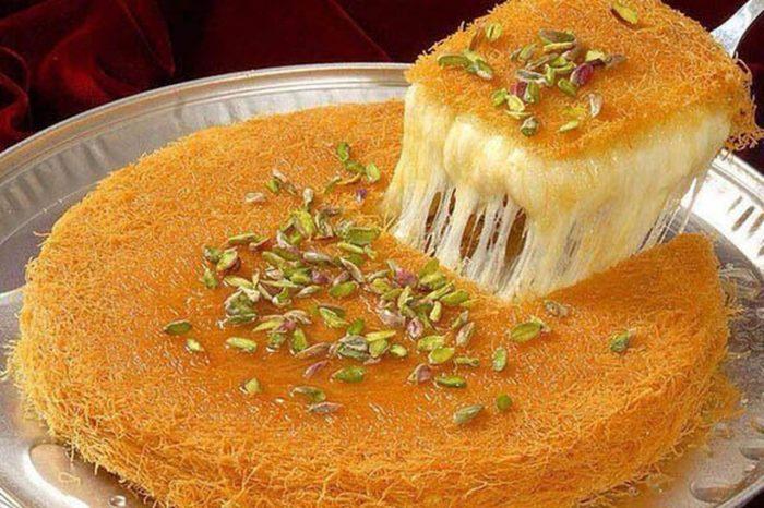 الذ الحلويات من المطبخ العربي