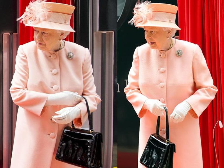 رسائل حقيبة الملكة اليزابيث