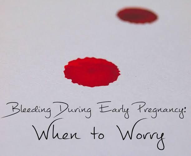 هل نزول دم أحمر فاتح في بداية الحمل يعد أمرًا خطيرًا ؟!