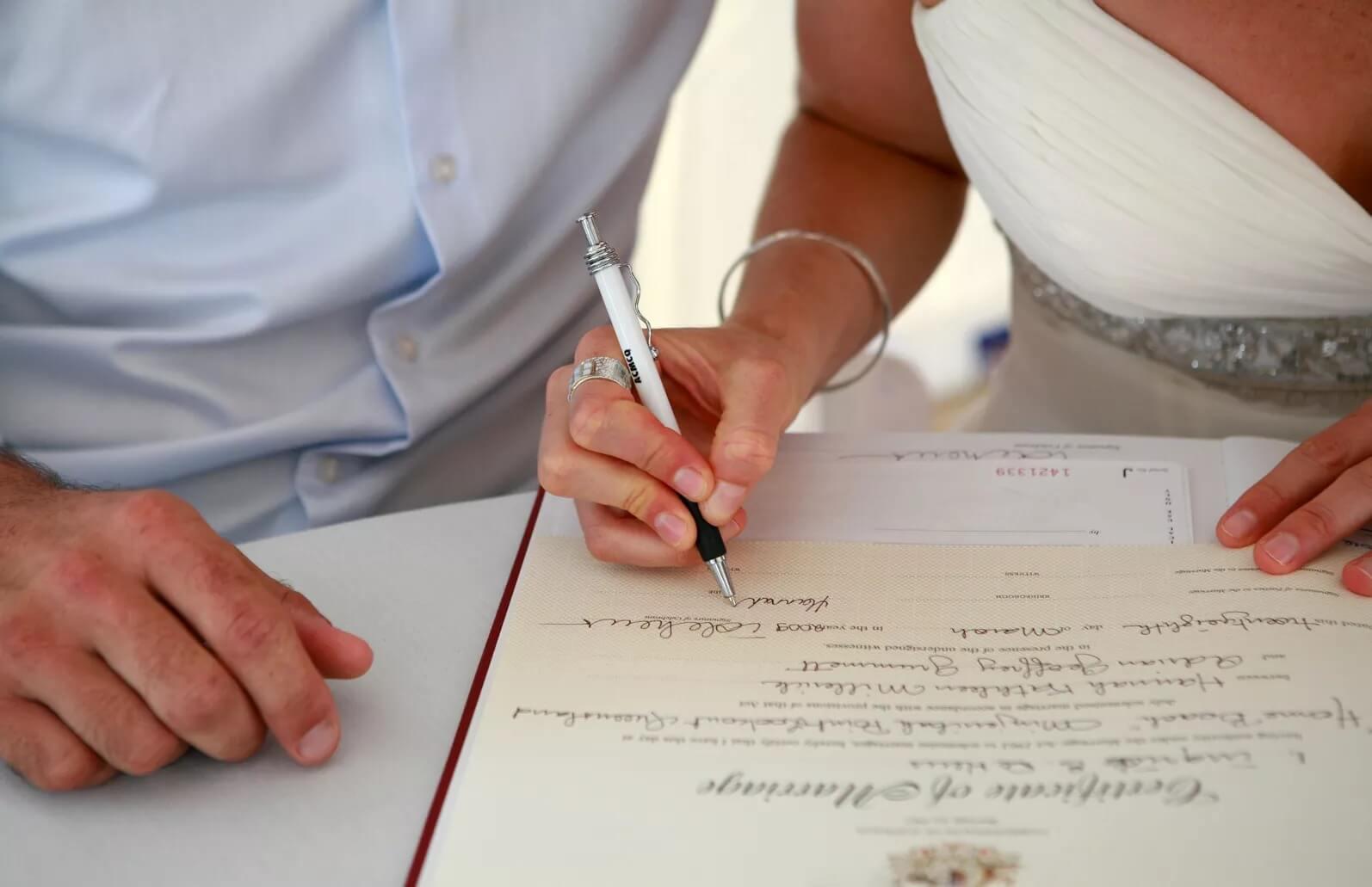 مفهوم الزواج المدني