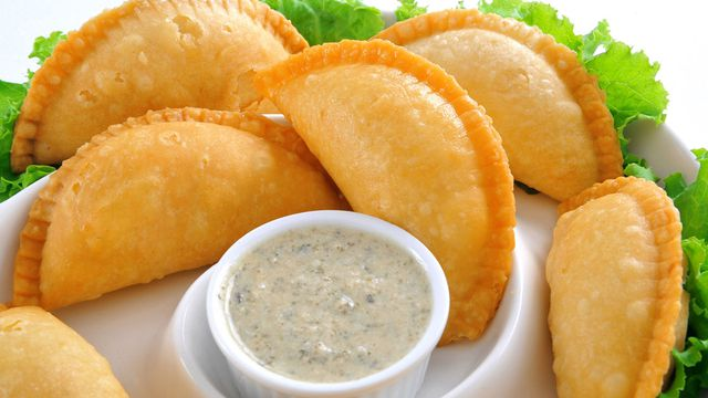 السمبوسة الهندية بحشوة البطاطس الشهية