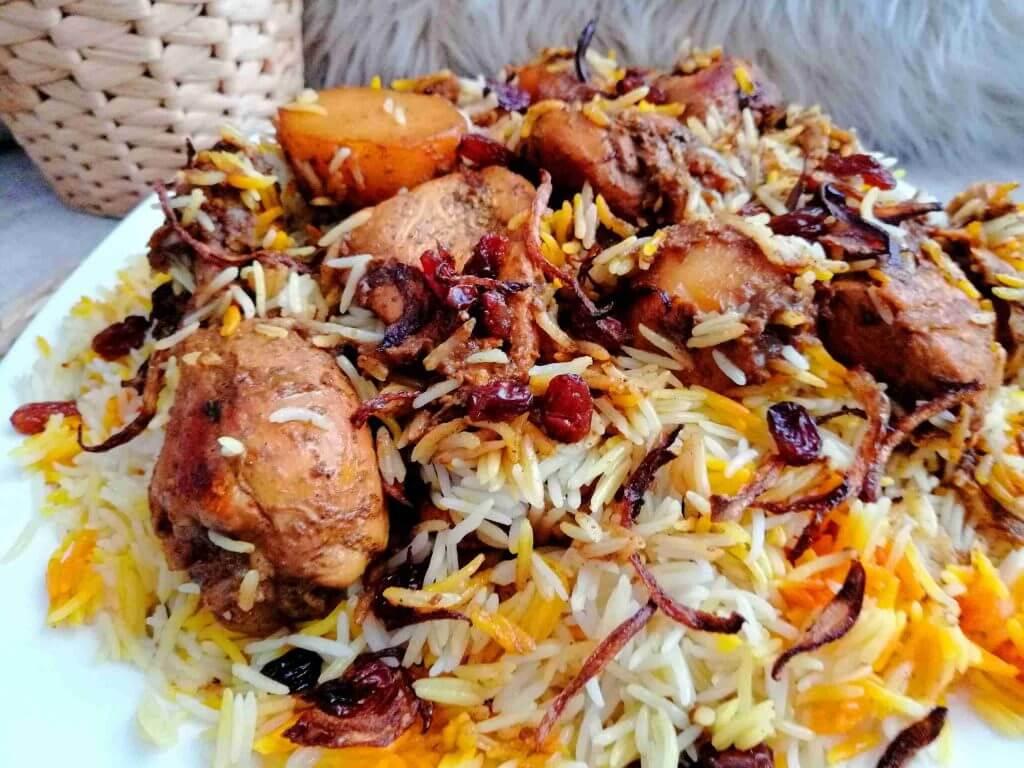 وصفات أرز الزربيان العدني