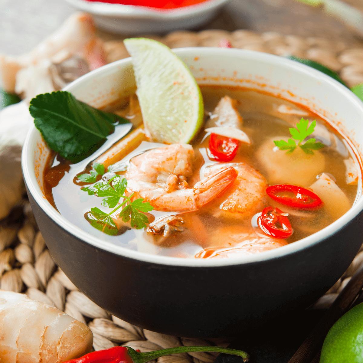 وصفات أنواع شهية من أطباق الشوربة الآسيوية