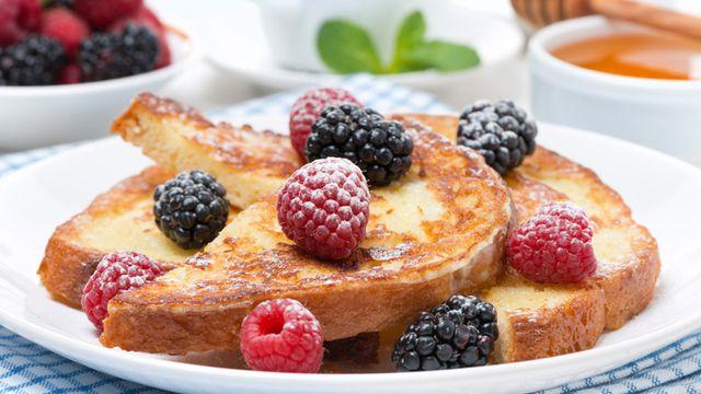 وصفات الفرنش توست أشهر أطباق الفطور