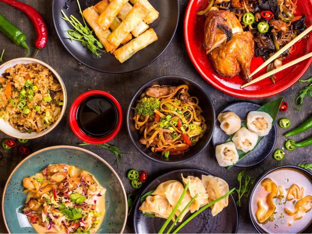 مقبلات شهية من المطبخ الآسيوي