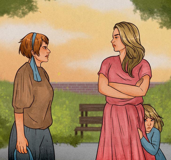 كيف اتعامل مع الأقرباء أو أي شخص يوبخ أبنائي أو يسيئ إليهم ؟
