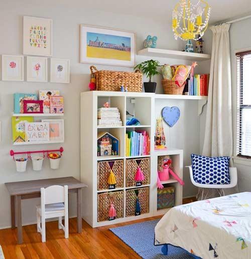 افكار تجعل من غرف نوم الاطفال  مرتبة ومنظمة طوال الوقت