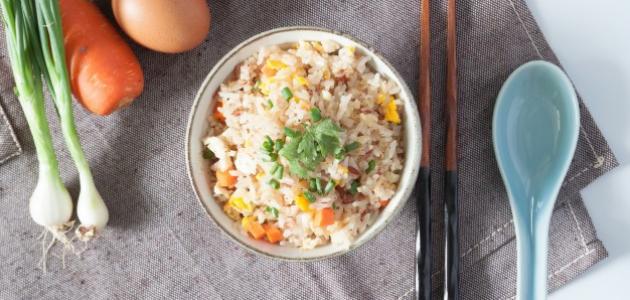 إعداد الرز الصيني في مطبخك