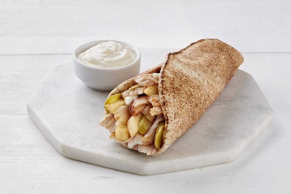 عمل شاورما دجاج بطريقة سهلة ولذيذة وسريعة منافسة للمطاعم.
