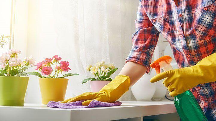 هل تعرفي أن نظرية ال 10 دقائق بإمكانها تنظيف منزلك ؟!